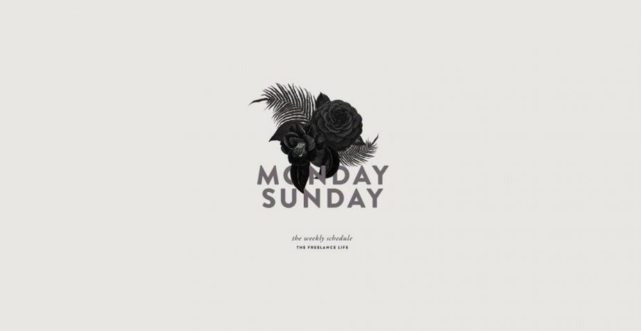 monday sunday poster art